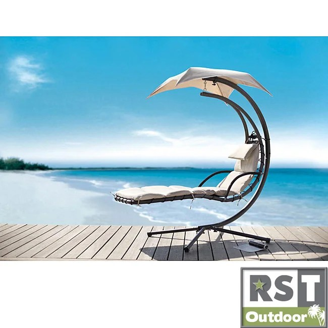 outdoor dream chair chairs with canopy shop rst patio chaise lounge umbrella free shipping today overstock com 5197227