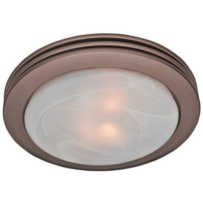 Hunter Fan Saturn Imperial Bronze Bath Fan with Light