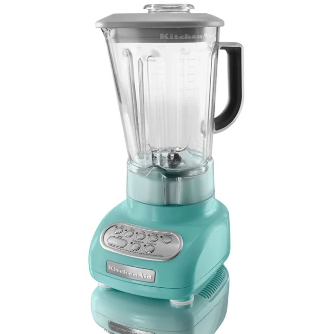 copper kitchen aid mixer marielle faucet kitchenaid ksb560aq aqua sky 5-speed blender - 13057626 ...