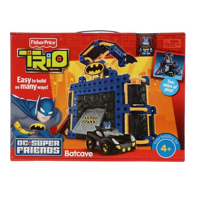 Fisher Price Trio Batcave  13133159  Overstockcom