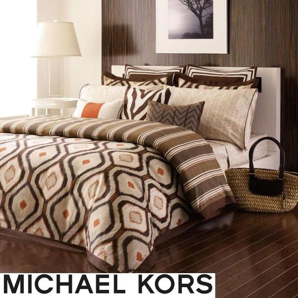 Michael Kors Serengeti 3-piece King-size Comforter Set