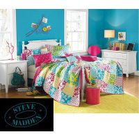 Steve Madden Julie 5-piece Full/ Queen-size Quilt Set ...