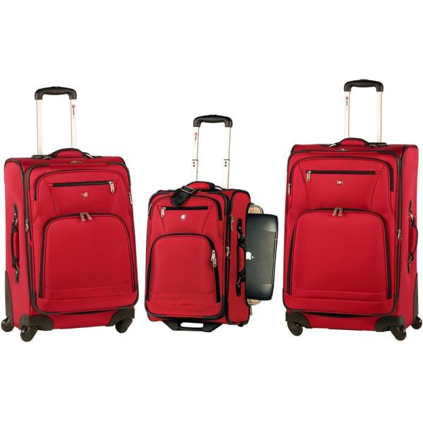 6aabb4e42 Wenger Swiss Gear Turin Collection 3-piece Spinner Luggage