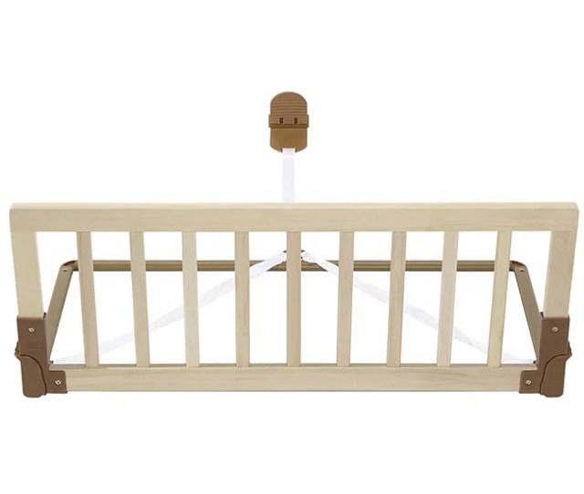 Kidco Natural Wood Convertible Crib Rail