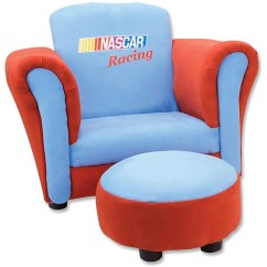 Toddler Chair And Ottoman Round Table Chairs Set Shop Trend Lab Nascar Free Shipping Today Overstock Com 5850899