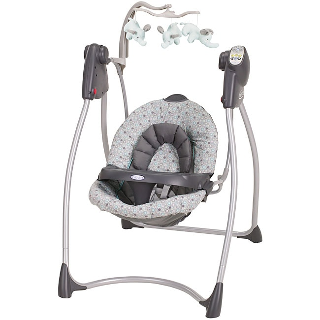 Graco Lovin Hug Swing in Circa  13902024  Overstockcom