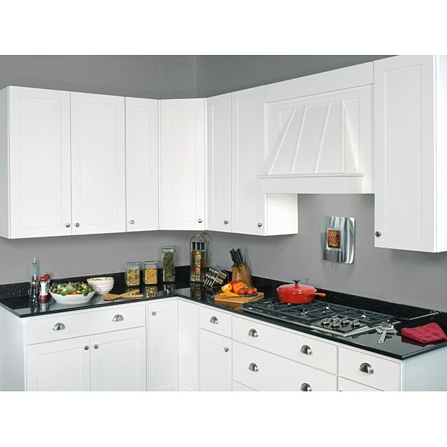 Sink Base Painted White 42 Inch Cabinet Overstock