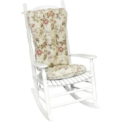2 Piece Rocking Chair Cushions Covers Rentals Calgary Shop Cotton Rose Floral Jumbo Cushion Set Free Shipping Today Overstock Com 6518711