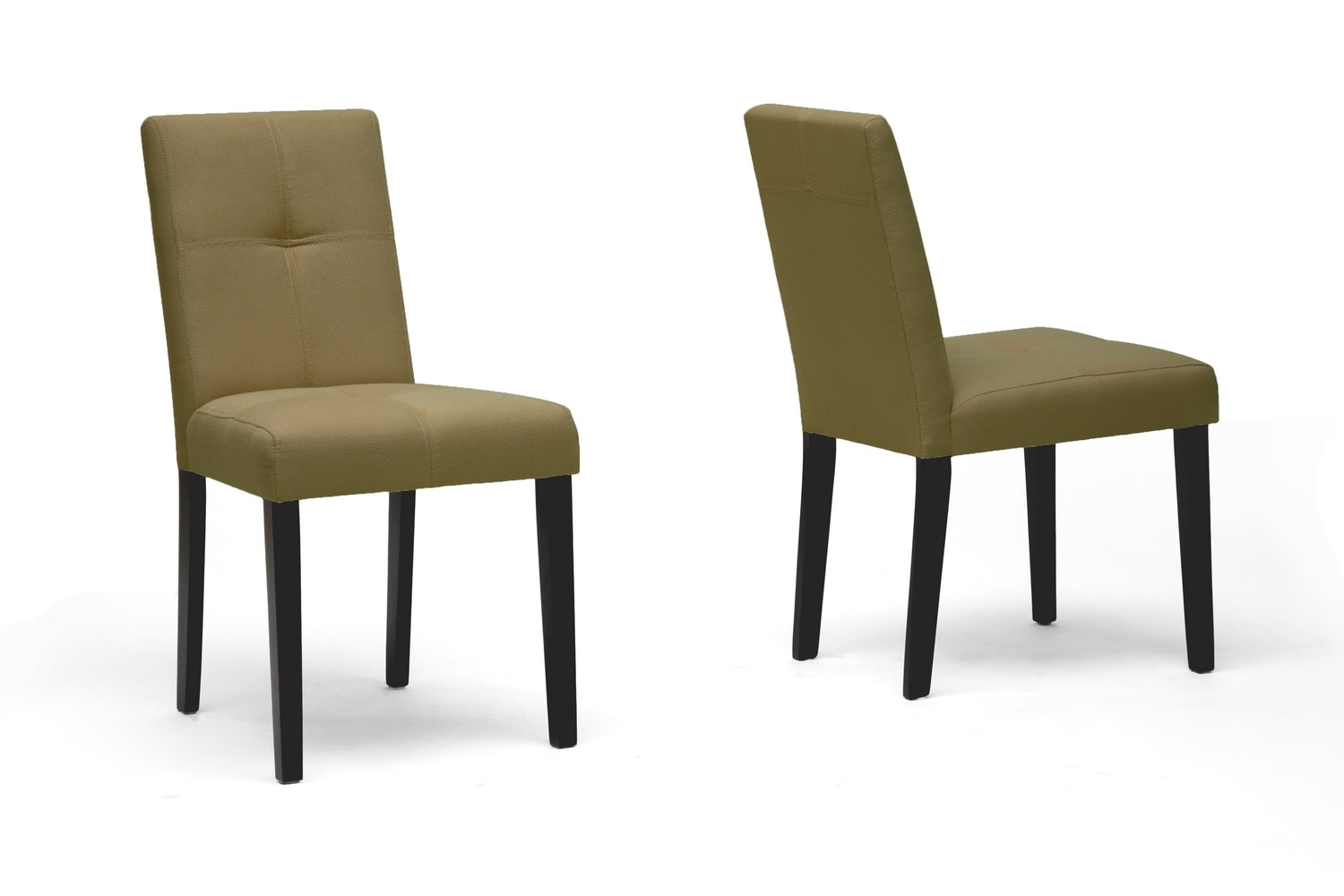 Taupe Dining Chairs Shop Elsa Taupe Fabric Modern Dining Chairs Set Of 2