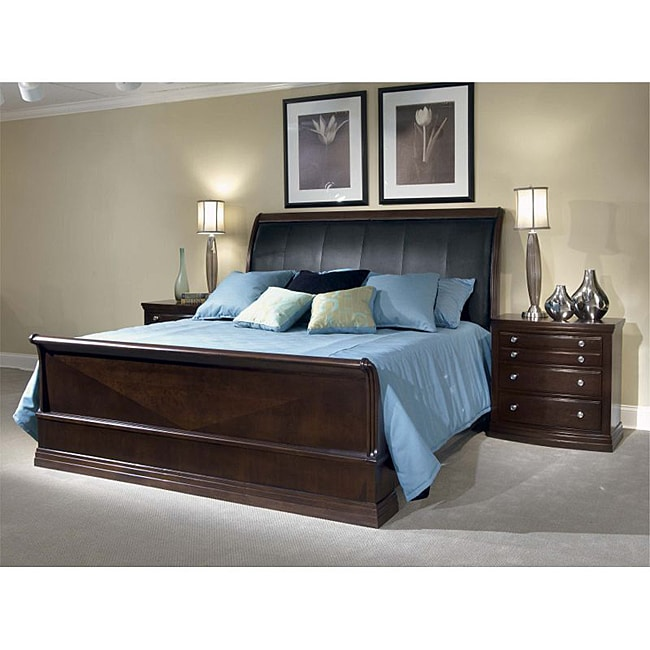 Broyhill Affinity Queen Sleigh Bed  Free Shipping Today  Overstockcom  14150850