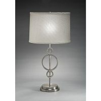 Aztec Lighting Contemporary 1-light Table Lamp in Brushed ...