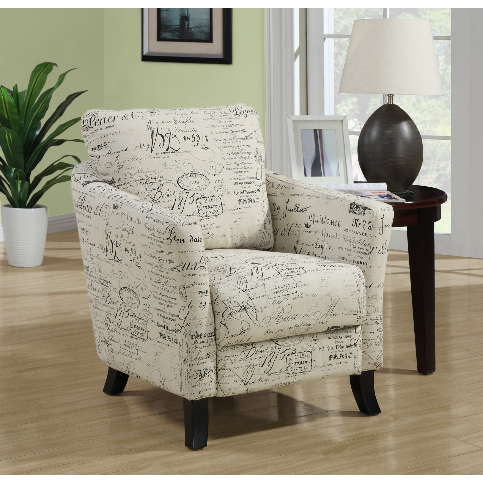 home decor accent chairs best inc recliner shop vintage french fabric chair free shipping