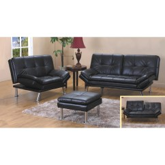 Bonded Leather Sofa And Loveseat Really Small Sectional Brown Bed Set Free
