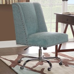 Office Chair Overstock Reupholster Cushion Corners Shop Maison Rouge Balaban Aqua Free Shipping On