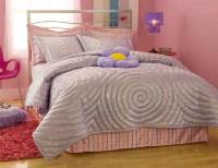 Glitter Purple Comforter Set