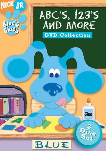 Clues 123 Blue Dvd Abc And