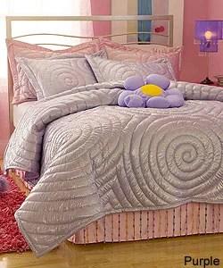 Glitter Pink Comforter Set