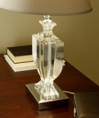 Crystal Urn Table Lamp - 10783272 - Overstock.com Shopping ...