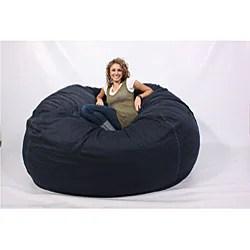 LoveSac SuperSac 6foot Foam Lounge Chair Navy  Free
