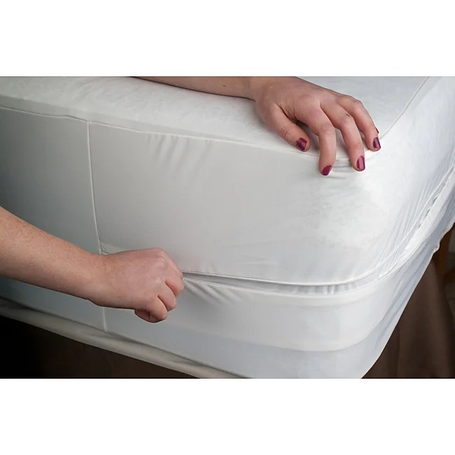 Tencel Waterproof Queen Size Bed Bug Encat Cover
