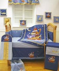 Starry Night 6-piece Crib Bedding Set - Overstock Shopping ...