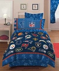 NFL Playoff 4-piece Twin Comforter Set - Free Shipping ...