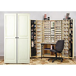 The Scrap Box Armoire  Free Shipping Today  Overstock