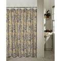 Westone ristretto floral tan and black shower curtain overstock