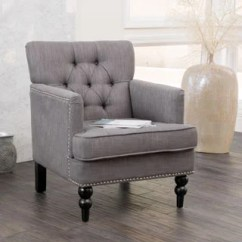 Chair Living Room Furniture Layout With Sectional Shop Malone Charcoal Grey Club By Christopher Knight Home On Sale Free Shipping Today Overstock Com 6808278