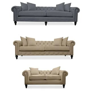 renate gray sofa table lazy boy dual reclining grey living room furniture - overstock shopping bring ...