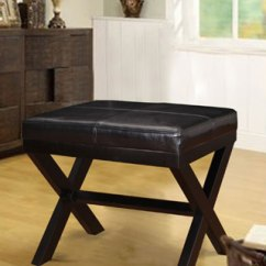 Rocking Chair With Footrest India How To Fix Broken Plastic Baxton Studio Yashiya Mid-century Retro Modern Grey Fabric Upholstered Ottoman Stool - 18076373 ...
