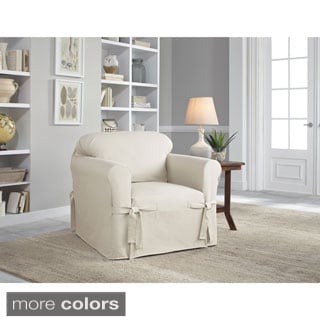 stretch morgan 1 piece sofa furniture cover cheap funky sofas galway t-cushion chair slipcover - 16696331 ...