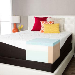 Comforpedic From Beautyrest Choose Your Comfort 14 Inch King Size Gel Memory Foam Mattress