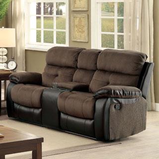 leatherette sofa durability new design 2017 in india shop signature by ashley follett coffee reclining ...