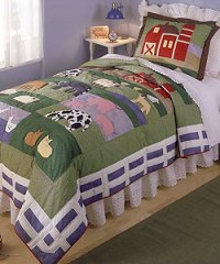 Farm Friends Quilt Set (Twin) - Free Shipping Today ...
