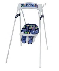 Graco Alphabet Checkers Recliner Wind-up Swing - 936321 ...