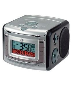 Am Fm Cd Digital Dual Wake Clock Radio