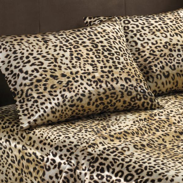 Leopard Print Queen Size Sheets