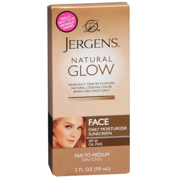 Medium Natural Jergens Face Fair Glow
