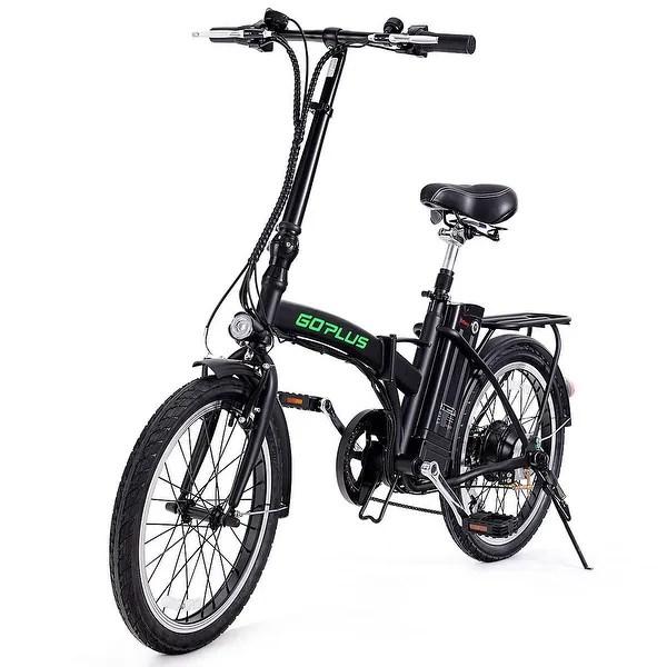 Shop Goplus 20''250W Folding Electric Mountain Bicycle