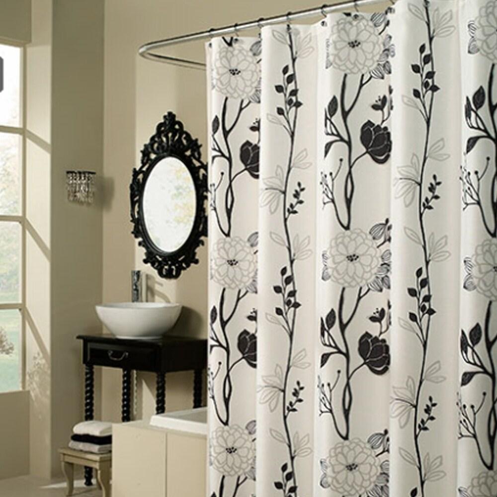 black shower curtains find great