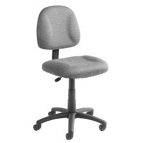 office chair posture buy ergonomic india shop boss b316 deluxe fabric burgundy tweed free shipping today overstock com 24879525