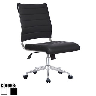ergonomic chair without arms desk and with storage bin buy armless office conference room chairs online at overstock com quick view