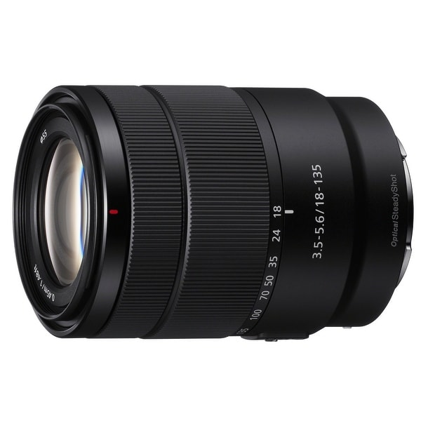 Shop Sony E 18-135mm F3.5-5.6 OSS APS-C E-mount Zoom Lens - black - Free Shipping Today - Overstock - 21930913