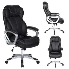 Black Leather Office Chair High Back Shower Vs Tub Transfer Bench Buy Conference Room Chairs Online At Overstock 2xhome Deluxe Professional Ergonomic Executive