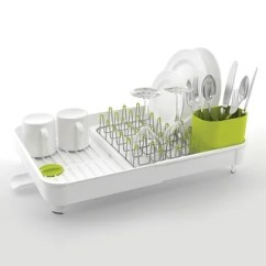 Office Chair Overstock Futon Mattress Cover Shop Joseph Extend Expandable Dish Drying Rack And Drainboard Set, White & Green - Free ...