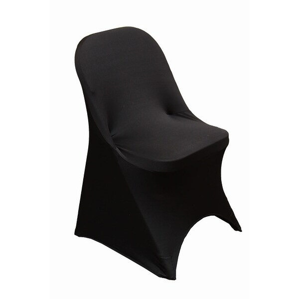 folding chair covers spandex pier one dining shop black cover free shipping on orders over 45 overstock com 18740326