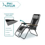 Shop Black Friday Deals On Phi Villa Oversize Xl Padded Zero Gravity Lounge Chair Wider Armrest Adjustable Recliner With Cup Holder Support 350 Lbs N A Overstock 29124299
