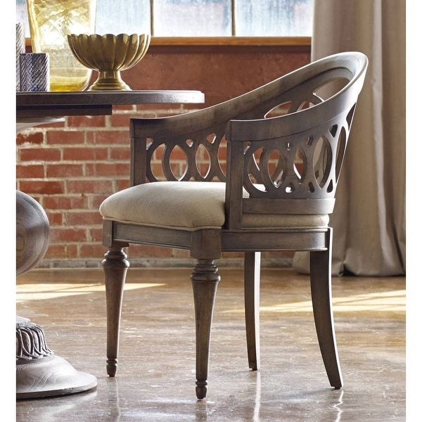 light wood dining chairs wheelchair hs code shop hooker furniture 638 75005 35 inch tall fabric chair from the melange c