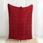Shop Black Friday Deals On Glitzhome 60 L 50 W Christmas Knitted Throw Blanket On Sale Overstock 28872664